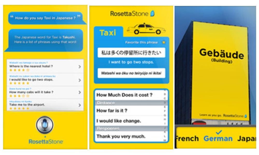اپلیکیشن اندروید آموزش زبان روزتا استون