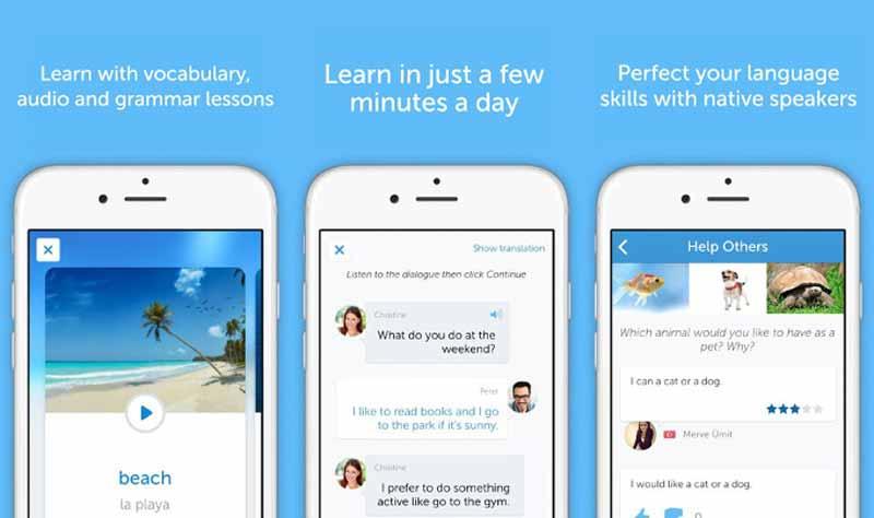 اپلیکیشن اندروید آموزش زبان بوسو