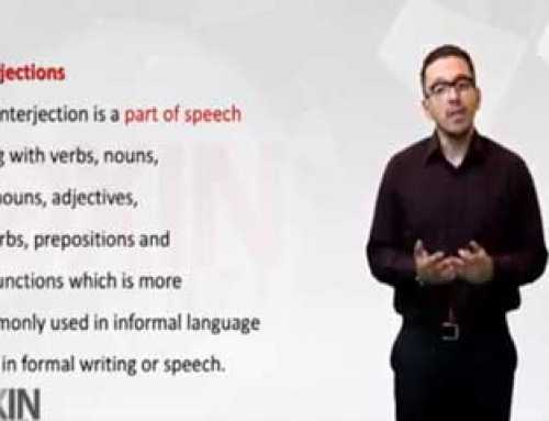 آشنایی با حروف ندا در زبان انگلیسی