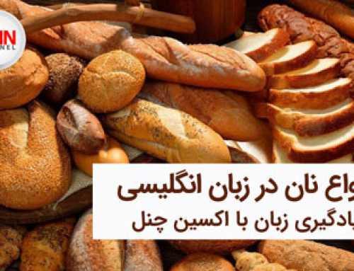 انواع نان و آموزش اسامی آن ها در زبان انگلیسی با ویدیو و تصویر